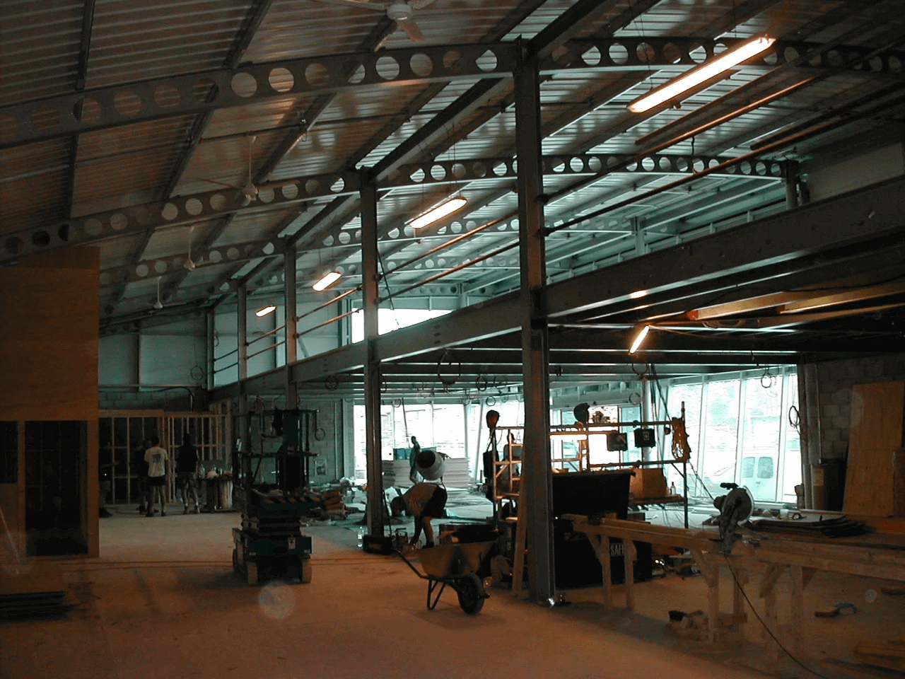 Warehouse Construction | Silverfox Design & Build